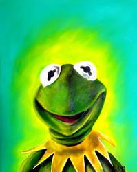 Kermit the frog by ckrickett