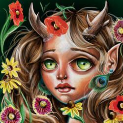 Wildflower by ckrickett