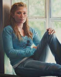 portrait study by kweenofklubs