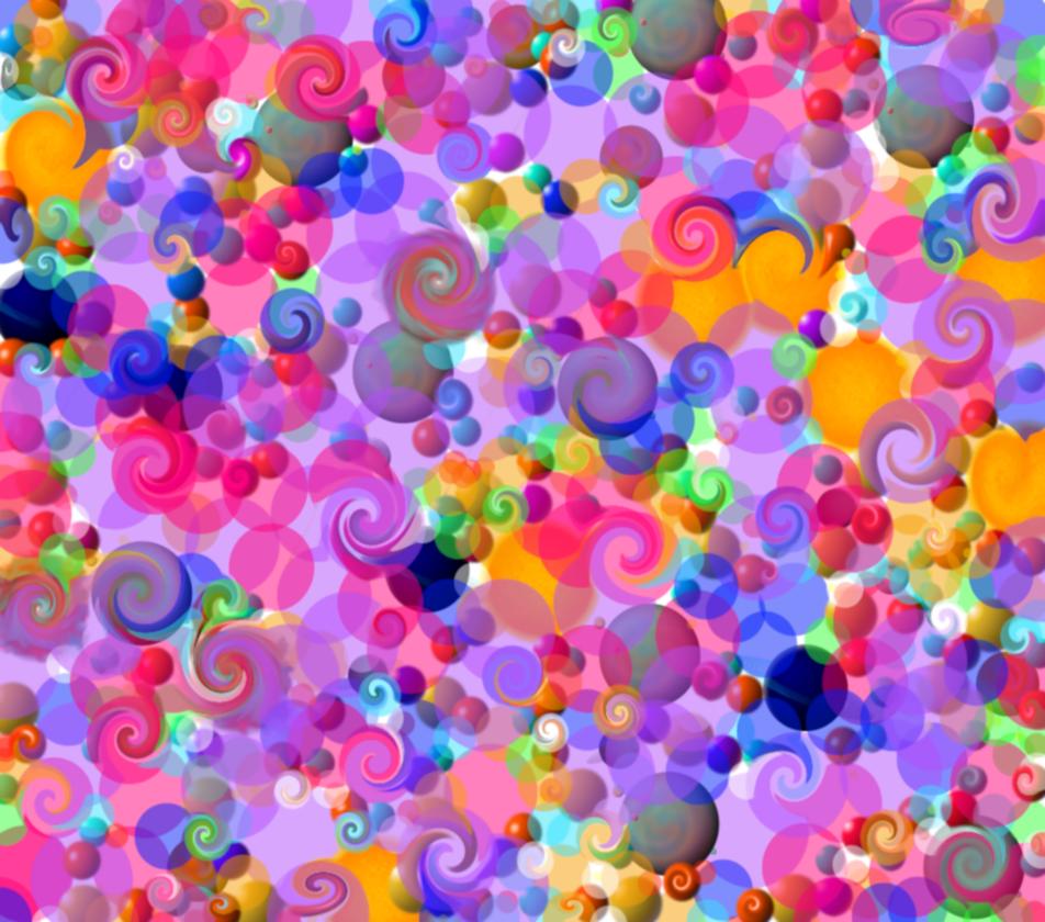 Stock Dots 2 and Swirls by analillithbar-stock