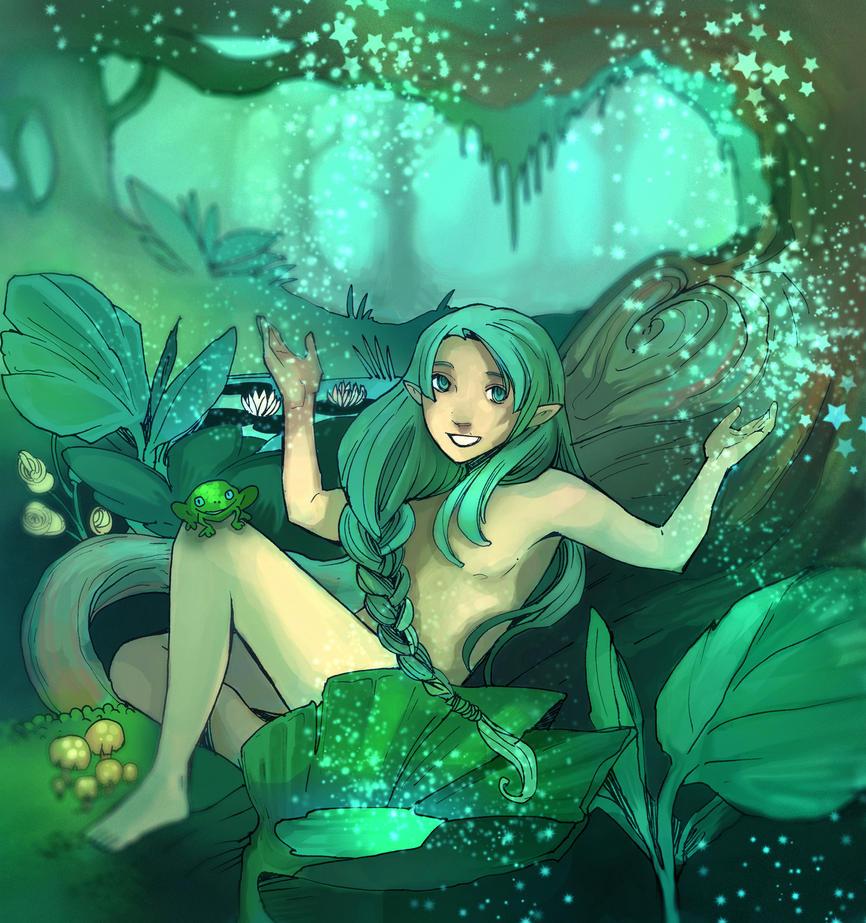 greenheart by JigokuNeko