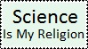 Science Is My Religion Stamp by Kyra-Saturday