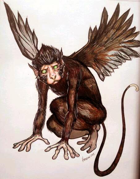 Bestiaire de Dùralas  Monkey_wing_by_albany74-d56ddp2