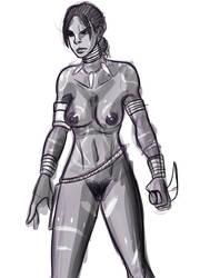 Tribal Nude Sheva by Shane-Emeraldwing