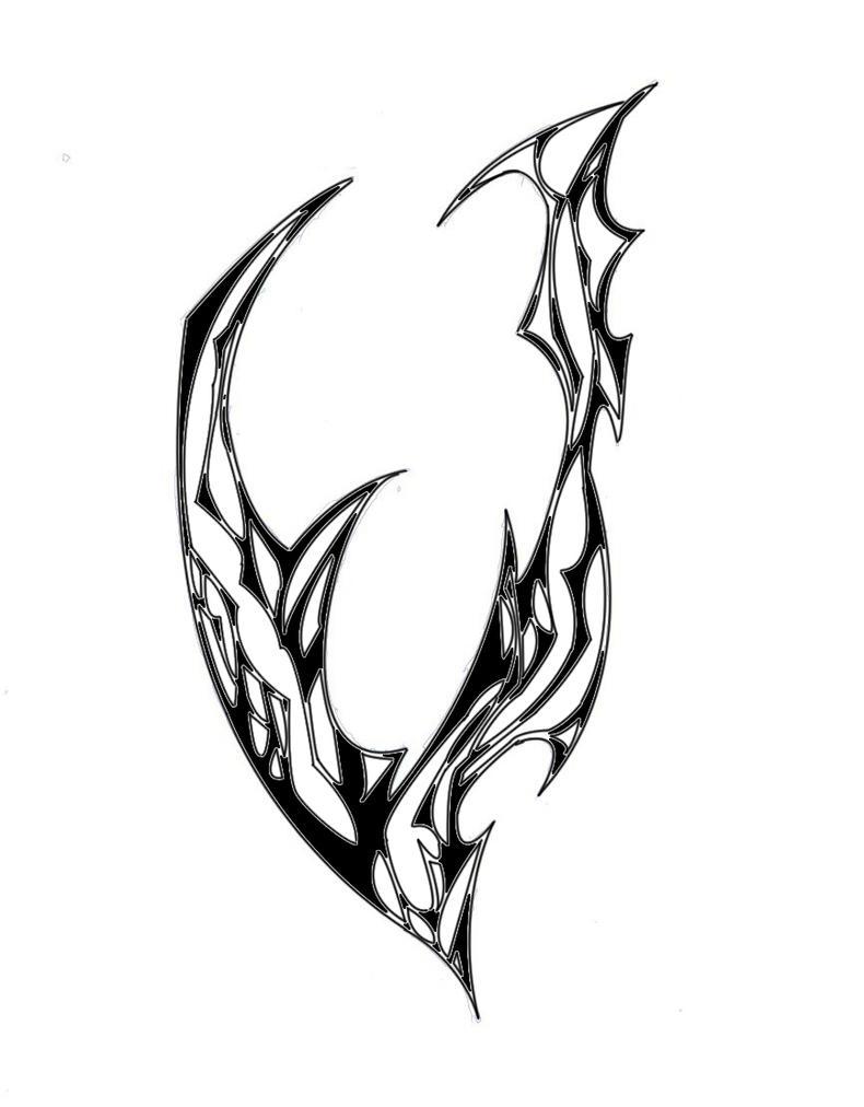 The letter V by phantom909