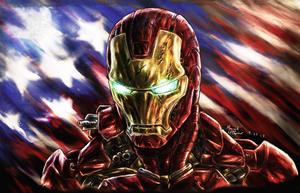 American Stark by VamkireTrannel