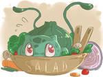 Bulbasaur Salad