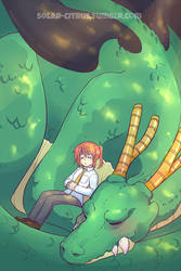 Miss Kobayashi's Dragon Maid by SOLAR-CiTRUS