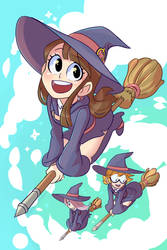 Little Witch Academia by SOLAR-CiTRUS