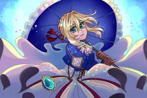Violet Evergarden by SOLAR-CiTRUS