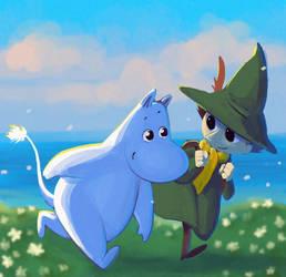 Moomin by SOLAR-CiTRUS