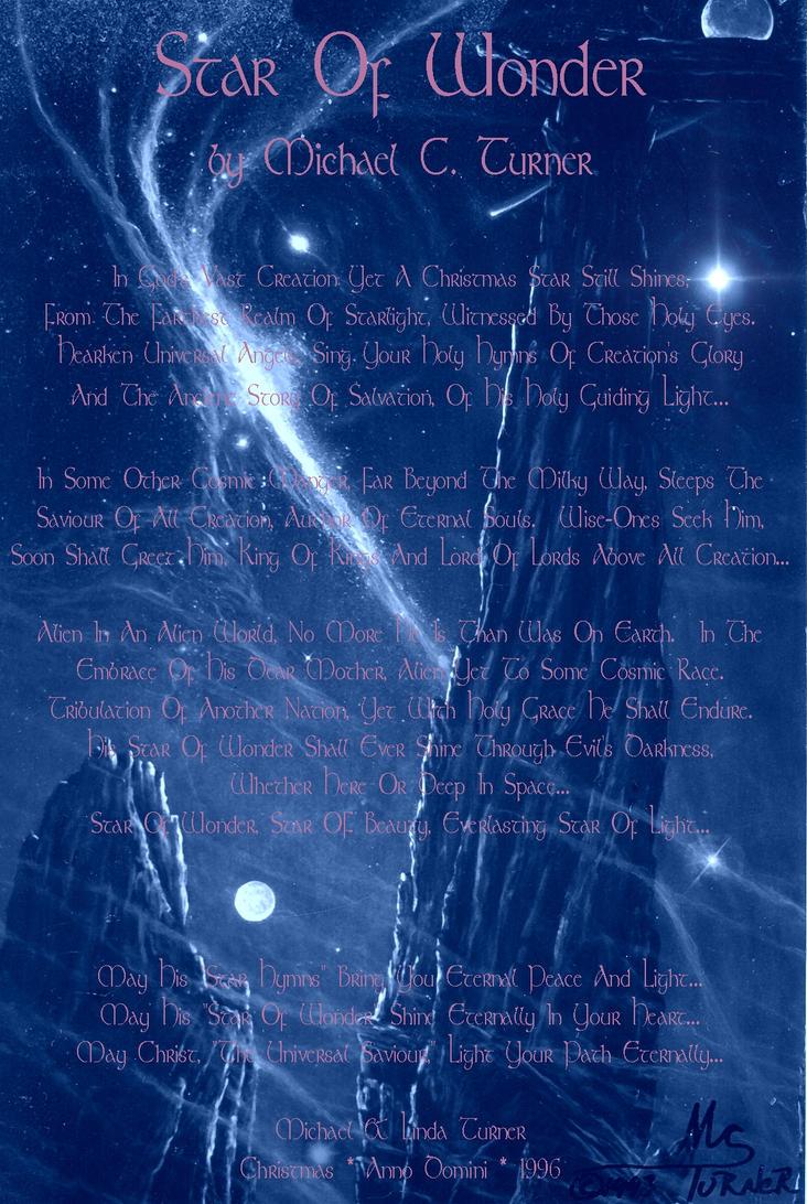 Star Of Wonder Star Hymns by AstroBoy1