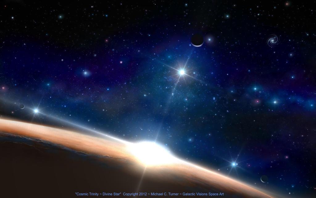 Cosmic Trinity ~ Divine Star by AstroBoy1