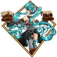Be right with you!- Miku Steampunk watermark