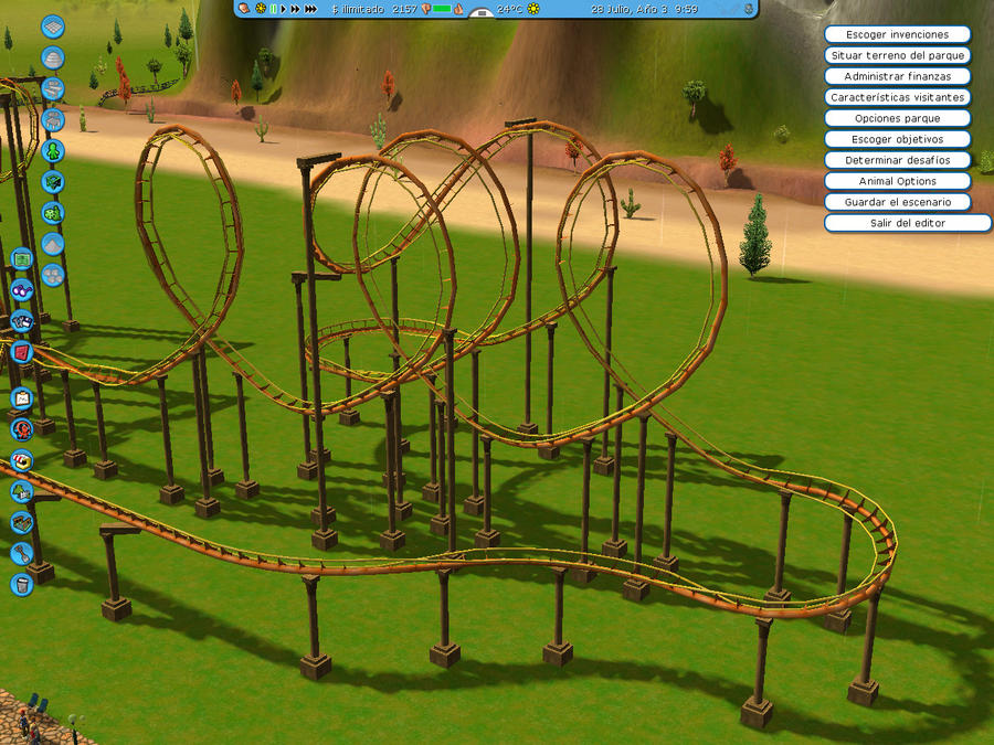Roller Coaster Tycoon  How To Make A Dark Room