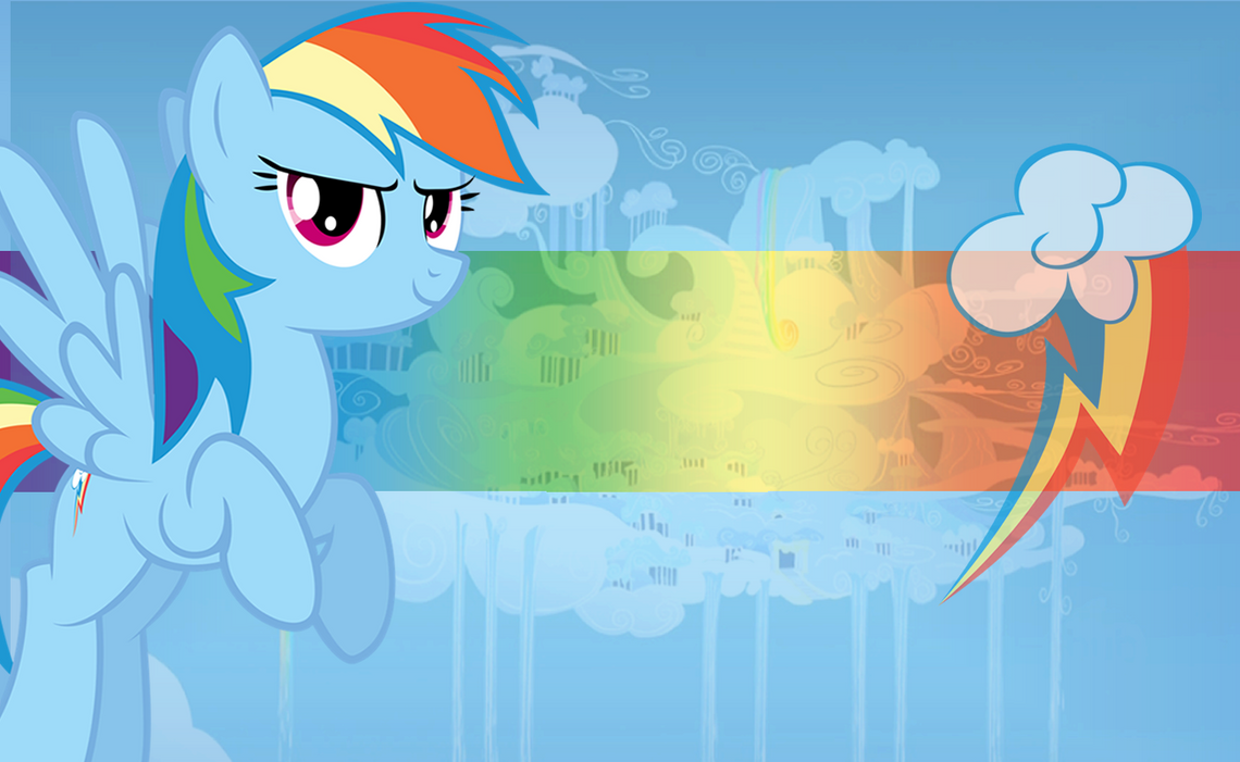 Rainbow Dash Wallpaper by mayosia