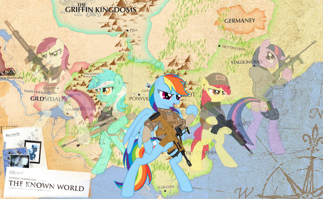 My Little Pony: Friendship is War by mayosia