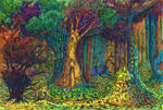 In The Thicket of Magic Forest
