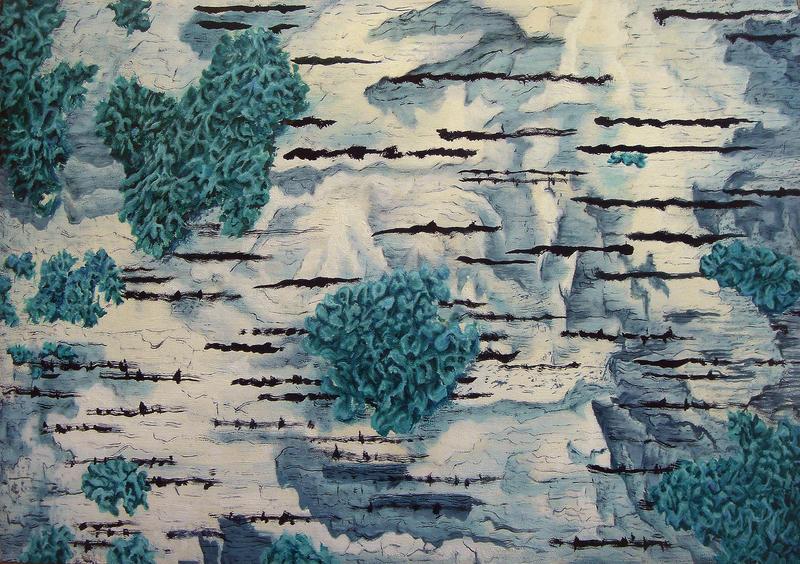 Birch's bark by AldemButcher