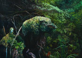 Anthropomorphic Swamp Hummock by CalciteMink1610