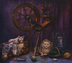 Tailor's Cats by CalciteMink1610
