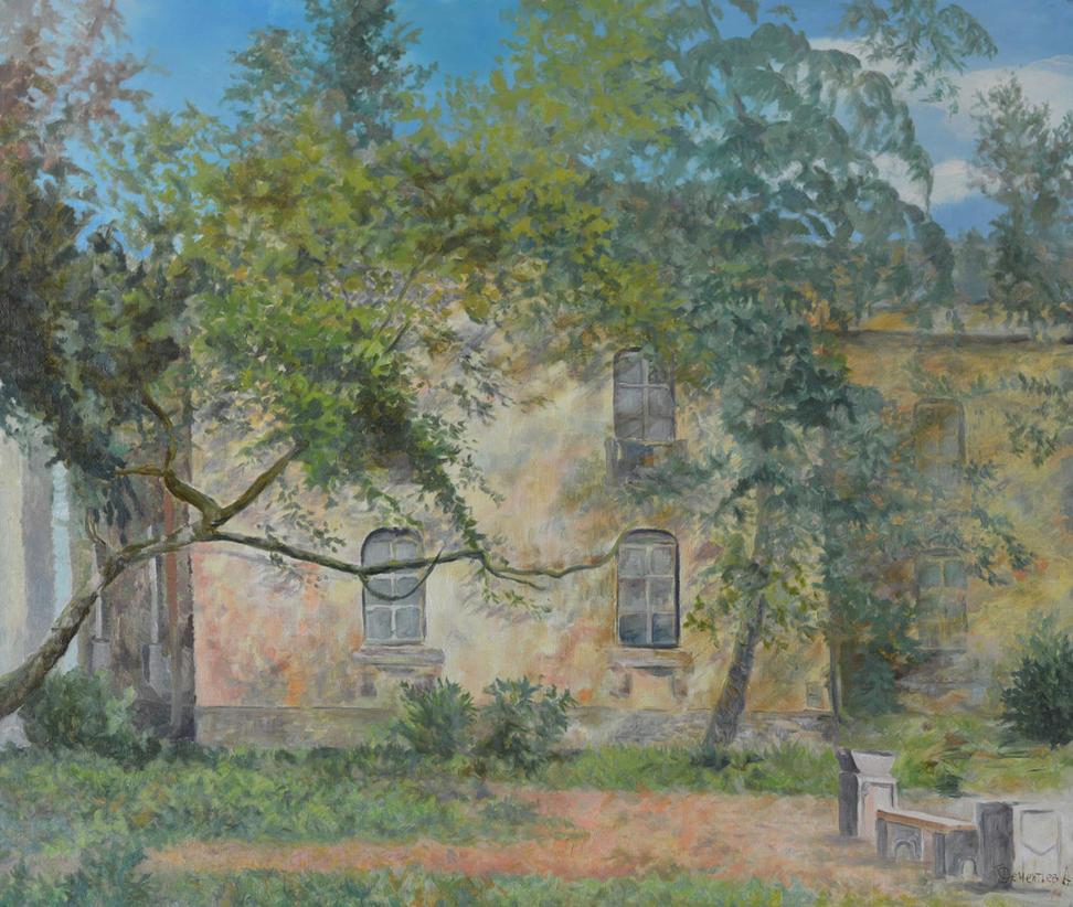 Nevsky House In A Sunny Day by AldemButcher