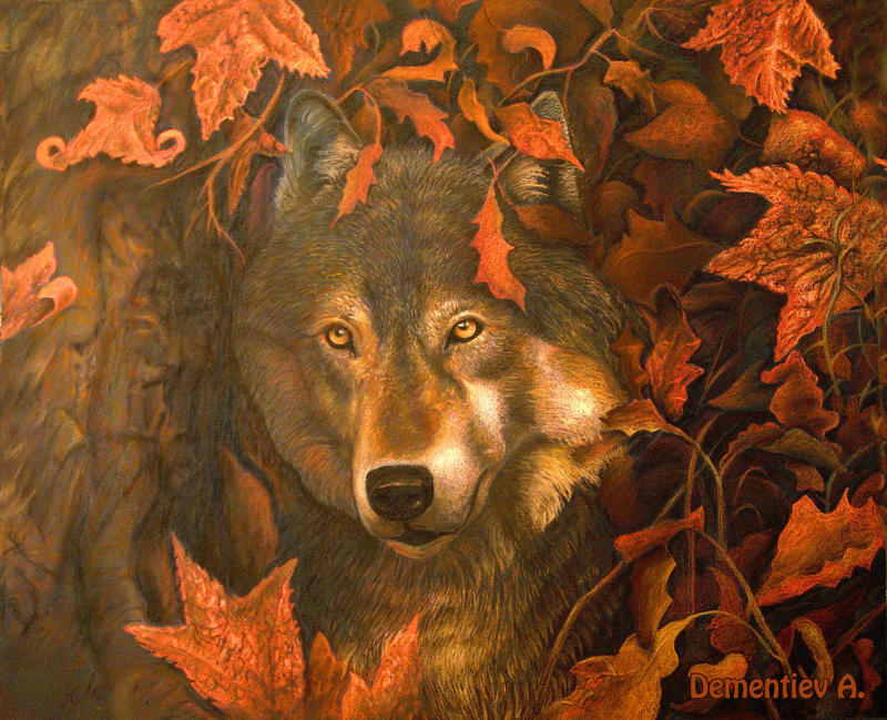 Wolf's Soul Autumn by AldemButcher