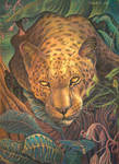 Sleepy leopard's portrait by CalciteMink1610