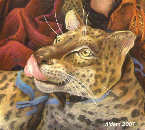 Gala Leopard - fragment by AldemButcher