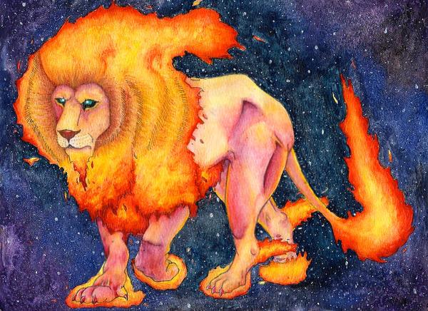 Belenus, Fire Elemental by MaleficentDraco
