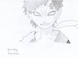 Gaara (Crazy Version) by Dragonfly224