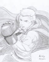 Akihiko Sanada by Dragonfly224