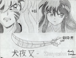 Sides of Inuyasha by Dragonfly224