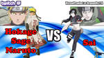 Youtube Custom Thumbnail: Sage Naruto vs Sai