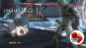 Youtube Custom Thumbnail: Injustice Survivor # 1 by Dragonfly224