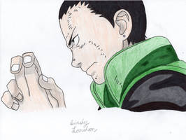 Shikamaru Nara by Dragonfly224