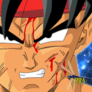 Bardock Close Up Icon by Dragonfly224
