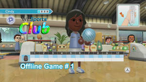 Wii Sports Club Offline Bowling # 1 THUMBNAIL by Dragonfly224
