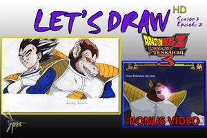 Let's Draw S3 Episode 2 THUMBNAIL by Dragonfly224