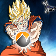 Goku Neogaf Icon [Dragonfly] by Dragonfly224