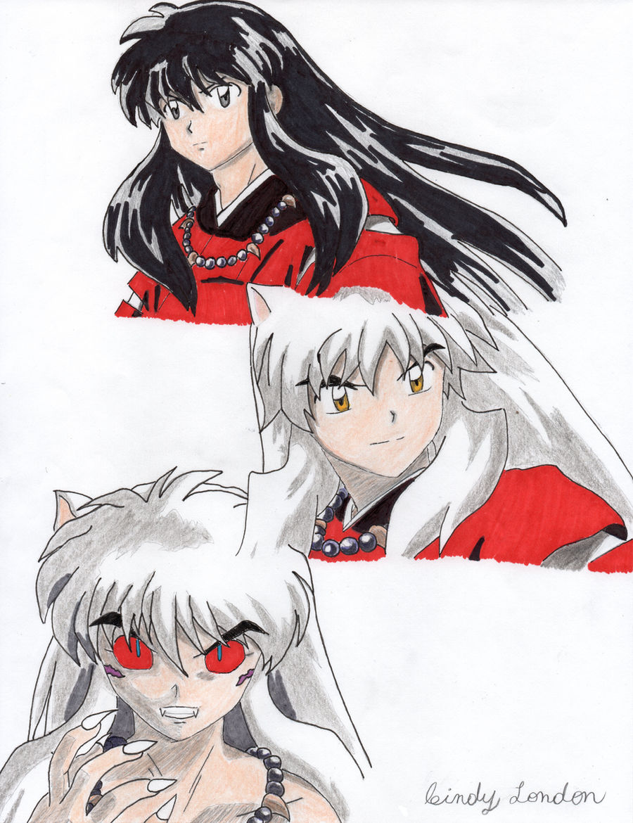 InuYasha Transformations by Dragonfly224