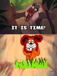 It Is Time - Duck Hunt by Dragonfly224