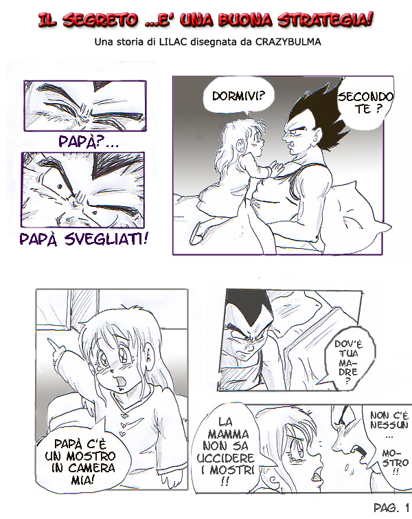 Vegeta And Bra In Il Segreto By Crazybulma On Deviantart