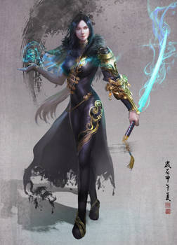 Jin-sep-yeon (Blade and soul)