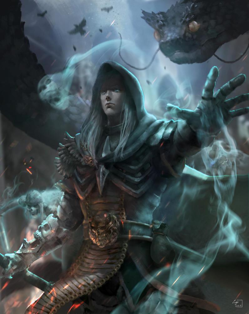 Diablo - Necromancer Rathma by Weichenstudio