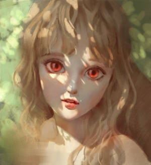 portrait practice-Sunshune girl