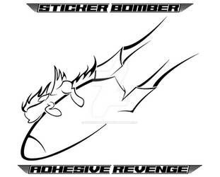 Stickier Bomber COMIN' IN HOT! by StickerBomber