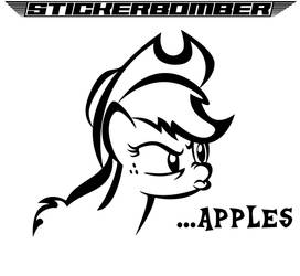 Apples by StickerBomber