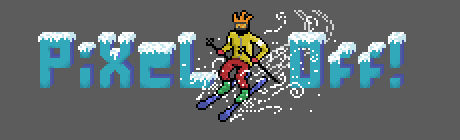 Pixel-Off Winter Logo