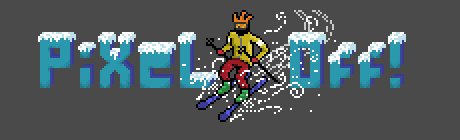 Pixel-Off Winter Logo by Connorses